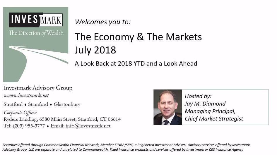 July 2018 Investmark Economy & Markets
